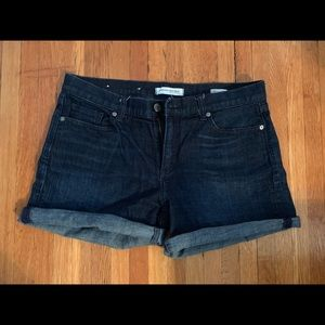 Banana Republic roll up jean shorts!